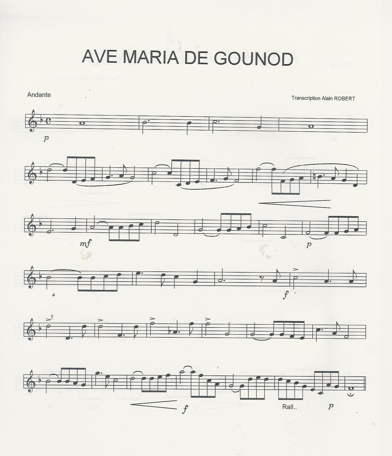 partition trompette classique